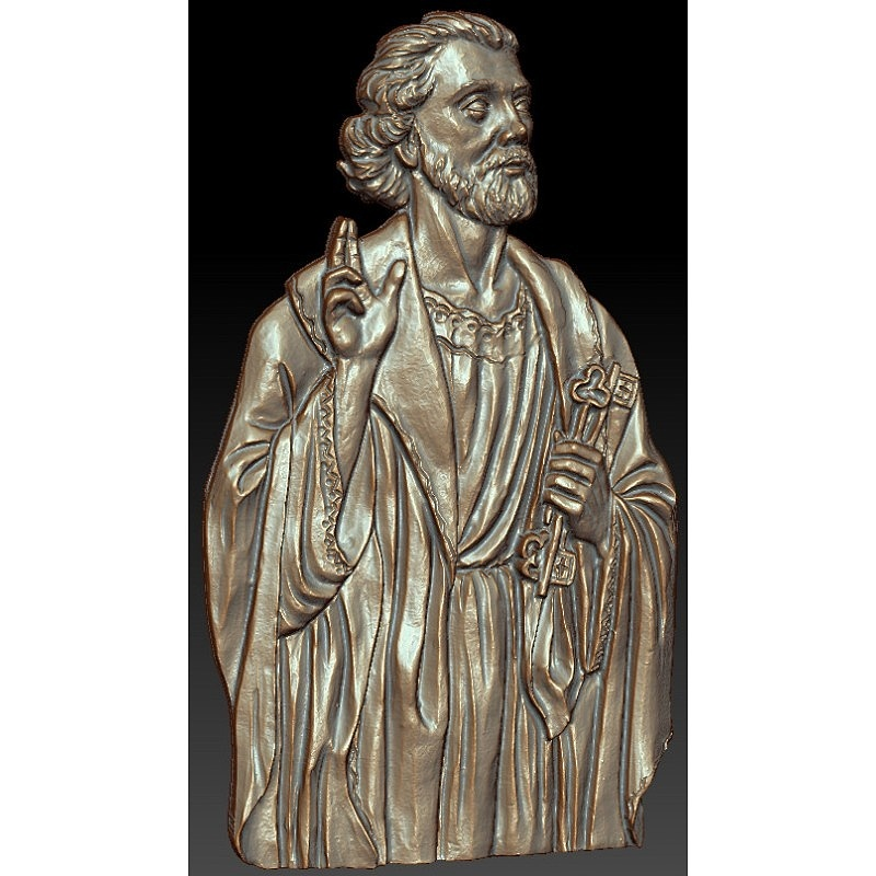 Святой Петр - модель для ЧПУ